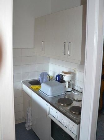 Familotel Panoramic: Küche - Comfort Apartment Typ B