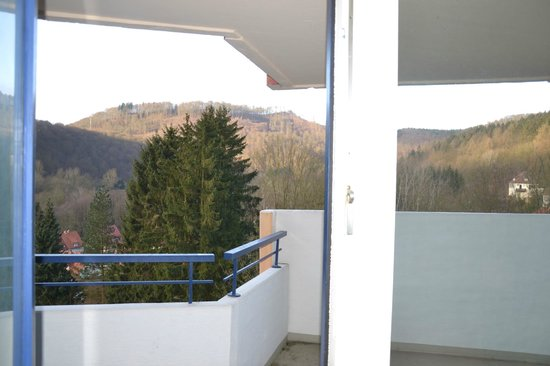 Familotel Panoramic: Ausblick vom Zimmer (4. Etage)