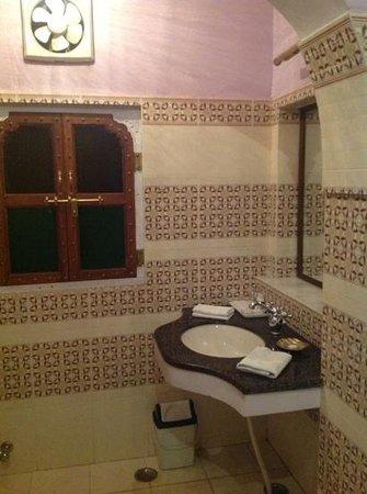 Saba Haveli: Badezimmer