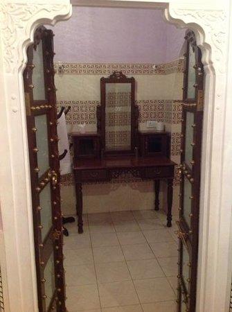Saba Haveli: zum Badezimmer