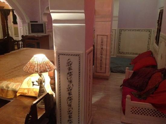 Saba Haveli: unser Zimmer