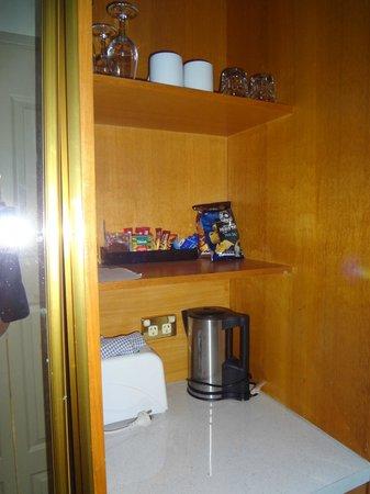 Mercure Charlestown : supplies / fridge etc