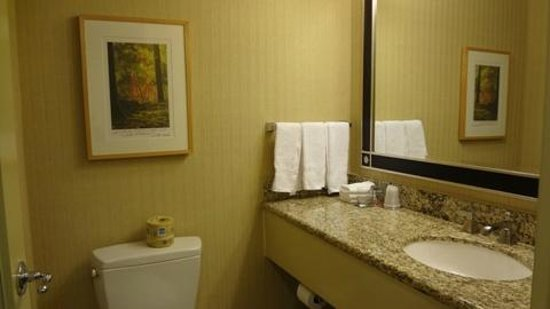 Sheraton Seattle Hotel: bath room