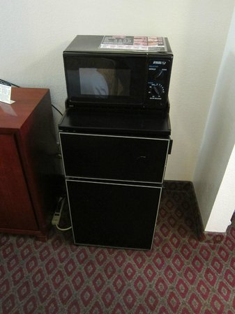 Ramada Temple Terrace/Tampa North: Fridge, Microwave
