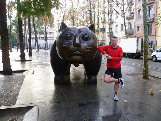 Running Tours Barcelona: Cat in Raval