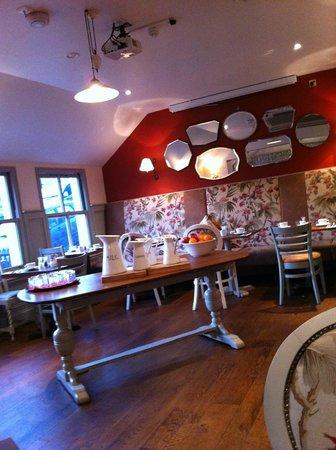 Duke's Head Hotel Wallington: breakfast area