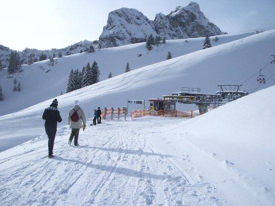 Hotel Schoenblick : Viel Schnee