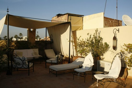 Riad Irene : The roof top