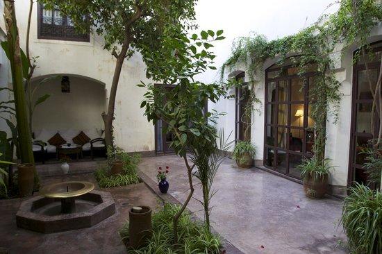Riad Dar Aman : vue du patio