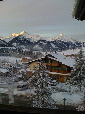Hotel Lumberger Hof: Blick aus dem Fenster (ein Wintermärchen)