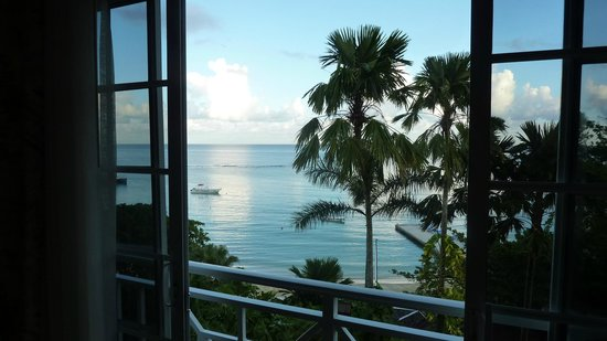 Sandals Royal Plantation: The view from room 211