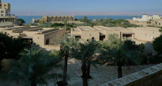 Movenpick Resort & Spa Dead Sea: Utsikt över Döda Havet och Israel