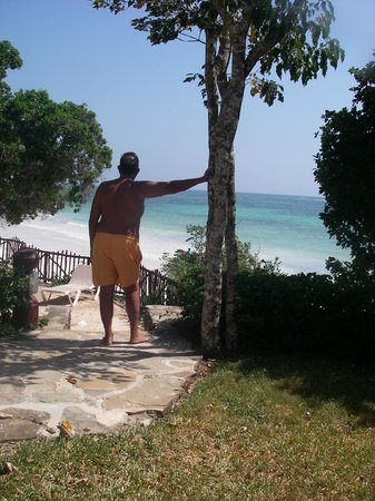 Baobab Beach Resort & Spa: Beach from Kole Kole, Baobab Hotel