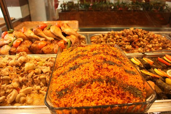 Piknik Kofte & Piyaz: bulghur rice