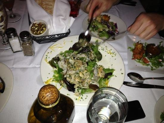 Artie's Steak & Seafood: Enough to share...but you don't have to!