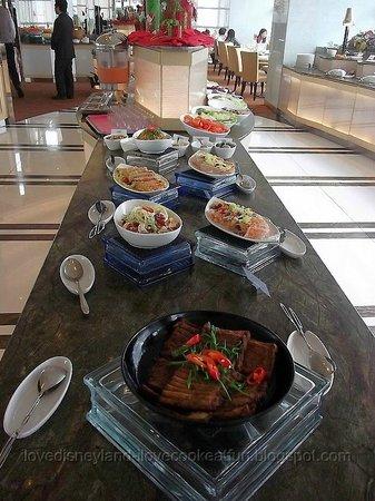 YMCA Salisbury Dining Room : 冷盤