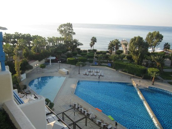 Elias Beach Hotel: View from room