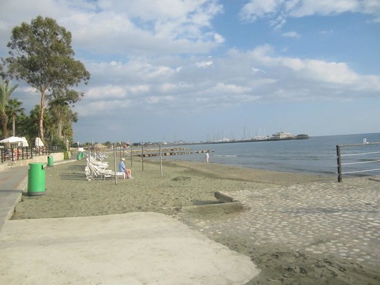 Elias Beach Hotel: Beach area