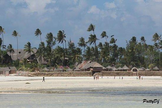 Samaki Lodge: vista dal mare