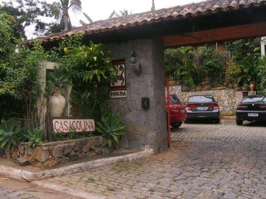 Pousada Casacolina : entrada