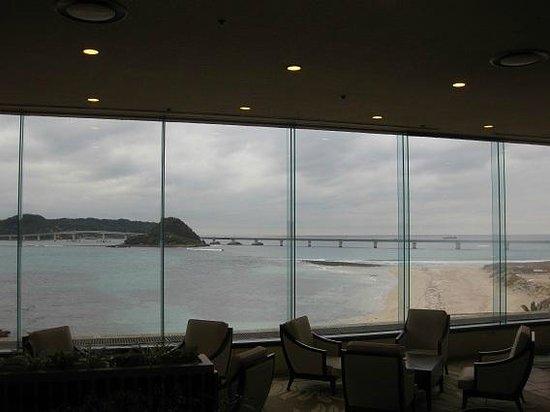 Hotel Nishi-Nagato Resort : ロビー内