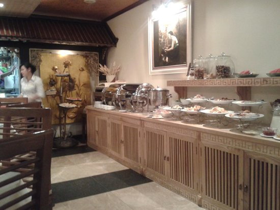 Golden Lotus Boutique Hotel: Breakfast
