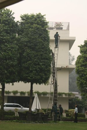The Claridges New Delhi: Health & Safety?