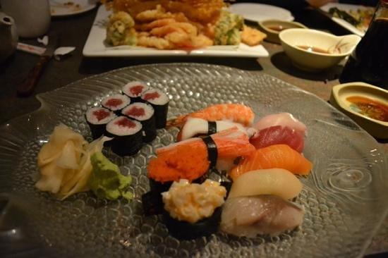 Kiku Japanese Fine Dining: Great sushi