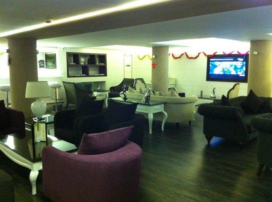 Monaco Hotel Istanbul: vue bar