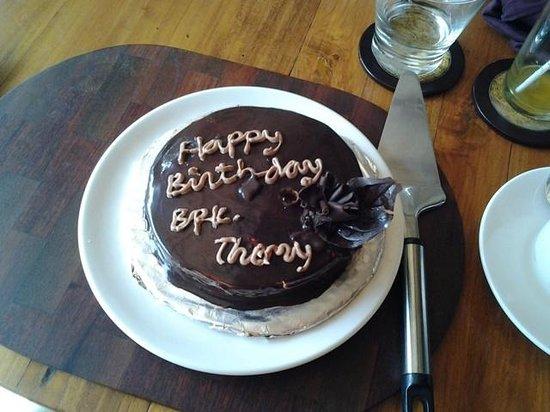 Komaneka at Tanggayuda: Complimentary birthday cake