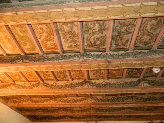 Hotel Residence Bijou de Prague: Ceiling.