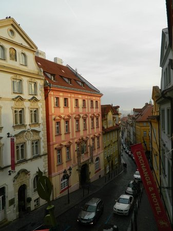 Hotel Residence Bijou de Prague: View from our room!