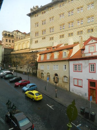 Hotel Residence Bijou de Prague : View from our room! Prague's Castle.