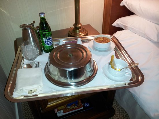 The Capital Hotel: Tasty room service (bit salty though)