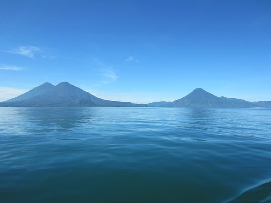 Hotel La Riviera de Atitlan: on the boat excursion