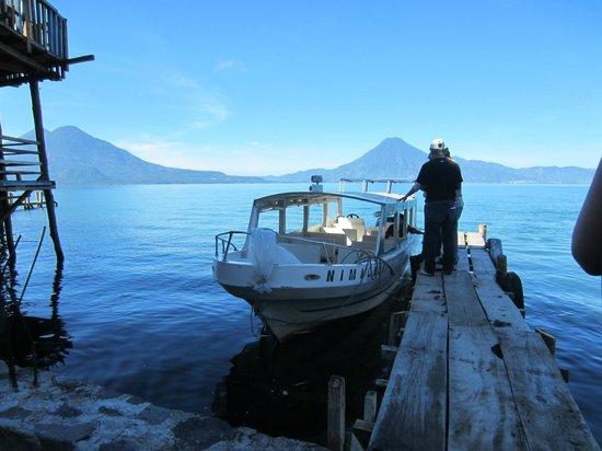 Hotel La Riviera de Atitlan: boat excursion