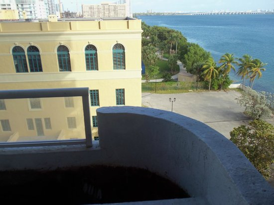 Doubletree by Hilton Grand Hotel Biscayne Bay: view from our room