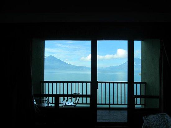 Hotel La Riviera de Atitlan: unbelievable view!