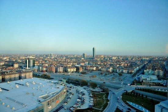 Dedeman Konya Hotel & Convention Center: view from room no 1512