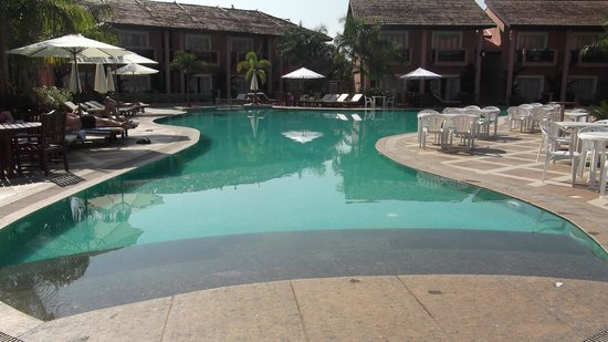 The Golden Crown Hotel & Spa Colva: Pool