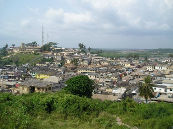 Elmina, Gana: City View