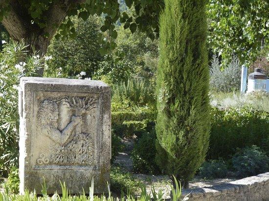 Jardin des Aromes : entrée des lieux