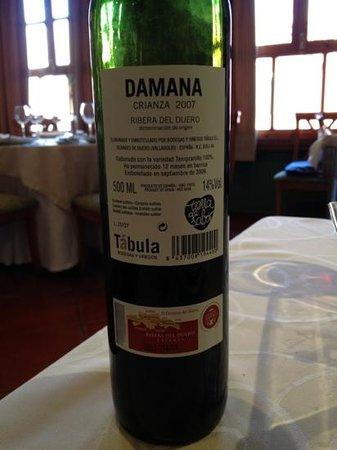 El Rincon de Bernardo : 10 eur. correcto pa 1/2 botella