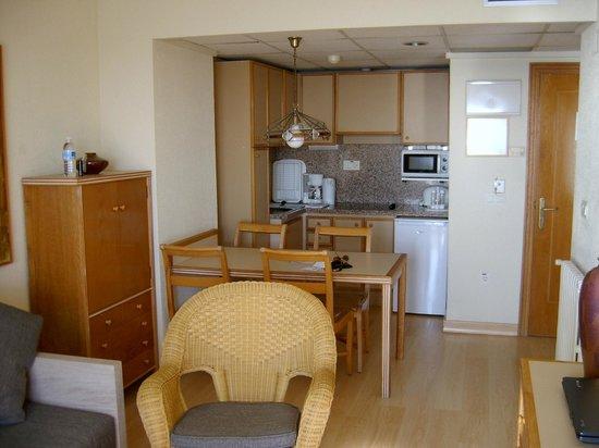 Apartamentos Les Dunes Suites : Lounge Area