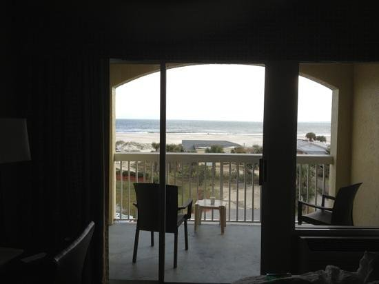 Hampton Inn St. Augustine Beach: great room!