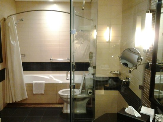 Crowne Plaza Al Khobar : Washroom