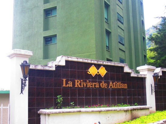 Hotel La Riviera de Atitlan: front of the hotel