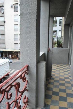 Dante Boutique Hotel: Varanda/Sacada