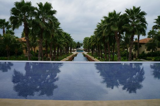 The St. Regis Punta Mita Resort: View from the lounge where they check you in