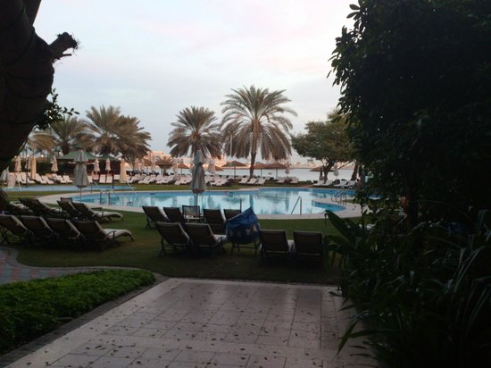 Le Meridien Abu Dhabi : view from hotel